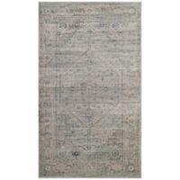 Safavieh Vintage Melania 3-Foot 3-Inch x 5-Foot 7-Inch Area Rug in Light Blue