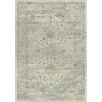 Safavieh Vintage Melania 6-Foot 7-Inch x 9-Foot 2-Inch Area Rug in Stone/Blue