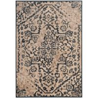 Safavieh Vintage Katalan 6-Foot 7-Inch x 9-Foot 2-Inch Area Rug in Cream/Blue