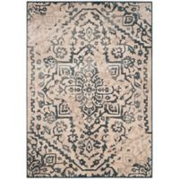 Safavieh Vintage Katalan 8-Foot 10-Inch x 12-Foot 2-Inch Area Rug in Cream/Blue