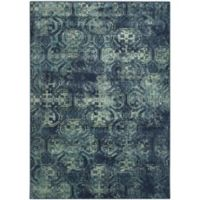 Safavieh Vintage Diana 3-Foot 3-Inch x 5-Foot 7-Inch Area Rug in Navy