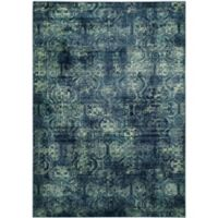 Safavieh Vintage Diana 6-Foot 7-Inch x 9-Foot 2-Inch Area Rug in Navy