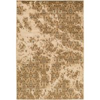 Surya Peroz Classic Floral 7-Foot 9-Inch x 11-Foot 2-Inch Area Rug in Tan