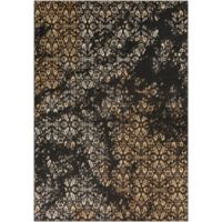 Surya Peroz Classic Floral 8-Foot 10-Inch x 12-Foot 9-Inch Area Rug in Black