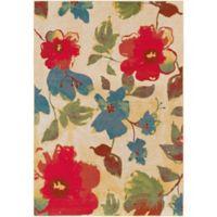 Surya Zaguide Floral 7-Foot 10-Inch x 10-Foot 6-Inch Area Rug in Saffron