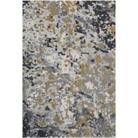 Surya Zaguide Camo 2-Foot 2-Inch x 4-Foot Accent Rug in Lime