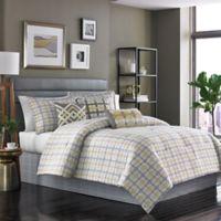 Dansk® 7-Piece Bjorn Reversible Queen Comforter Set in Gold