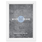 Gallery 5-Inch x 7-Inch Wood Frame in White