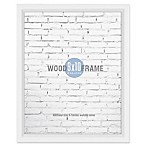 Gallery 8-Inch x 10-Inch Wood Frame in White