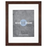 Gallery 8-Inch x 10-Inch Matted Wood Frame in Espresso
