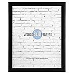 Gallery 8-Inch x 10-Inch Wood Frame in Black