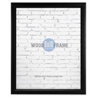 Gallery 8-Inch x 10-Inch Wood Frame in Black