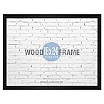 Gallery 18-Inch x 24-Inch Wood Frame in Black
