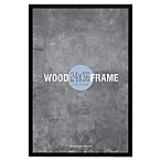 Gallery 24-Inch x 36-Inch Wood Frame in Black