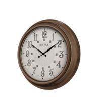 Bulova Key West Indoor/Outdoor Wall Clock