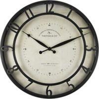 FirsTime® Kensington Whisper Wall Clock in Oil Rubbed Bronze