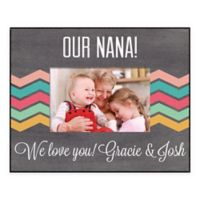 For Grandma 4-Inch x 6-Inch Personalized Picture Frame in Grey