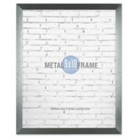 Gallery 8-Inch x 10-Inch Brushed Metal Frame in Gunmetal