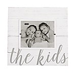 Mud Pie The Kids 8-Inch x 10-Inch Picture Frame in White
