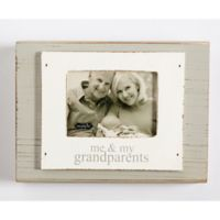 Mud Pie Grandparents 3-Inch x 4-Inch Picture Frame in White