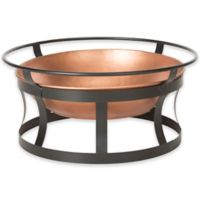 Safavieh Bonaire Wood-Burning Fire Pit in Copper/Black