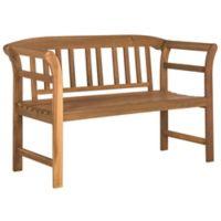 Safavieh Porterville 2-Seat Outdoor Bench in Teak