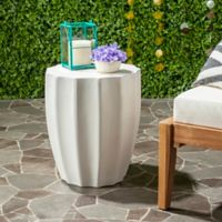 Safavieh Jaslyn Concrete Accent Table