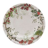 Holiday Wreath Salad Plate