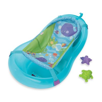 buy fisher price 4 in 1 sling 39 n seat bath tub from bed bath beyond. Black Bedroom Furniture Sets. Home Design Ideas