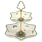 Spode® Christmas Tree 2-Tier Candy Stand