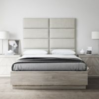 Vant 60-Inch x 46-Inch Micro Suede Upholstered Headboard Panels in Neutral