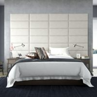 Vant 120-Inch x 69-Inch Micro Suede Upholstered Headboard Panels in Neutral