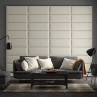 Vant 120-Inch x 92-Inch Micro Suede Upholstered Headboard Panels in Neutral
