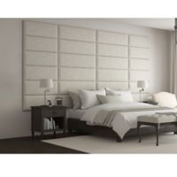 Vant 138-Inch x 69-Inch Micro Suede Upholstered Headboard Panels in Neutral