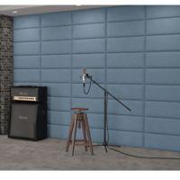 Vant 120-Inch x 92-Inch Micro Suede Upholstered Headboard Panels in Ocean Blue