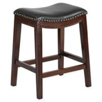 Flash Furniture 26-Inch Backless Wood Stool in Black