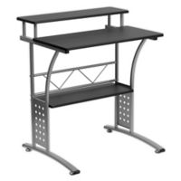 Flash Furniture 23.5-Inch Clifton Computer Desk in Black