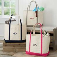 The Deluxe Weekender Embroidered Tote