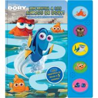 "Disney® ""Finding Dory"" Little Maze Sound Storybook (Spanish Edition)"