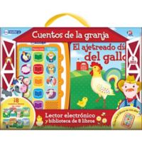 "ME Reader Jr.™ ""Cuentos De La Granja"" Spanish Electronic Reader and 8-Book Library"