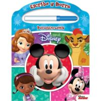 "Disney® ""Escribe y Borra"" Look and Find® Board Book and Marker Set (Spanish)"