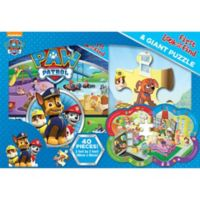 """Paw Patrol My First Look and Find"" Book and Puzzle"