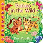 """Babies in the Wild"" Lift-A-Flap Board Book by Ginger Swift"