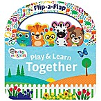 """Baby Einstein Play & Learn Together"" Flip-A-Flap Board Book by Minnie Birdsong"