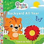 """Baby Einstein Touch & Feel"" Flip-A-Flap Board Book by Minnie Birdsong"