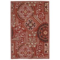 Kaleen Brooklyn Xander 8-Foot x 11-Foot Area Rug in Red