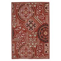 Kaleen Brooklyn Xander 9' x 13' Area Rug in Red