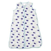 aden + anais® Extra Large High Seas Muslin Wearable Blanket in Blue