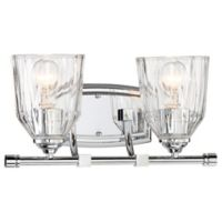 Minka-Lavery® D'Or 2-Light Wall Sconce in Chrome