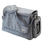 bbluv Ultra Diaper Bag with 5 Accessories in Heather Grey
